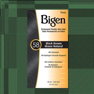 Bigen 58 Dark Brown