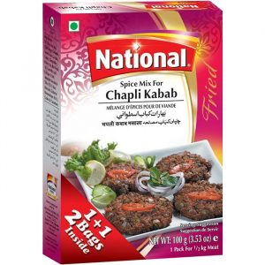 Chapli Kabab National Spices