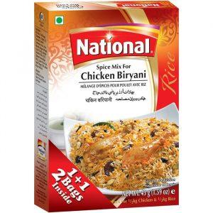 Chicken Biryani National Spices