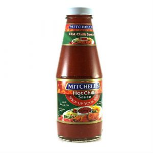 Mitchell's Hot Chilli Sauce