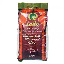 Laila Golden Sella Basmati Rice