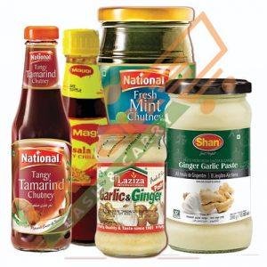 Pastes & Sauces