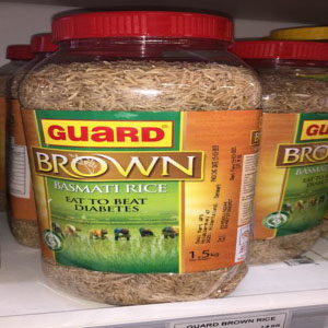 Gaurd Brown Rice