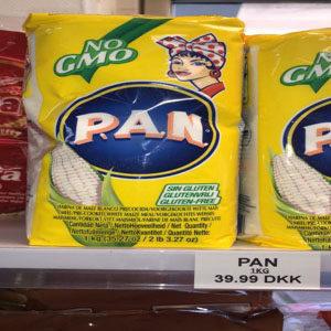 Pan Corn Flour
