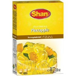 Shan Jelly Crystels Pineapple