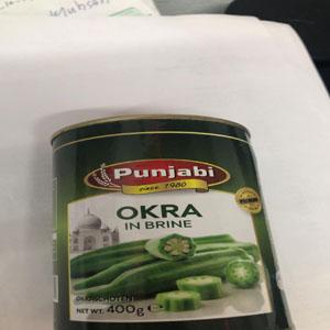 Okra Bhindi Canned